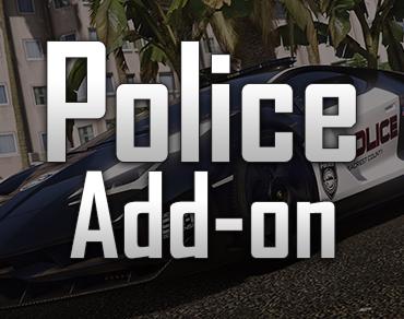 Add-on Polizei Fahrzeuge